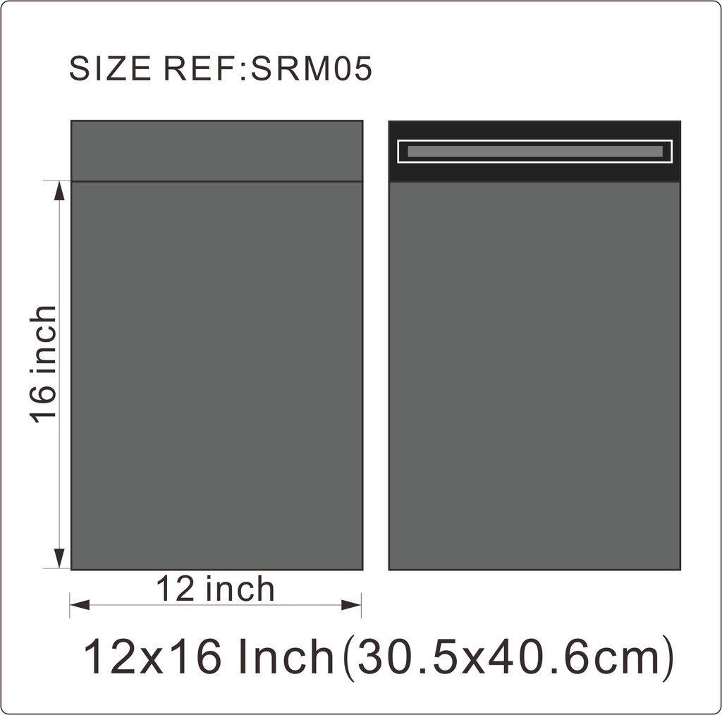 Versandtaschen stark 305 x 405 cm Plastik 25 St/ück