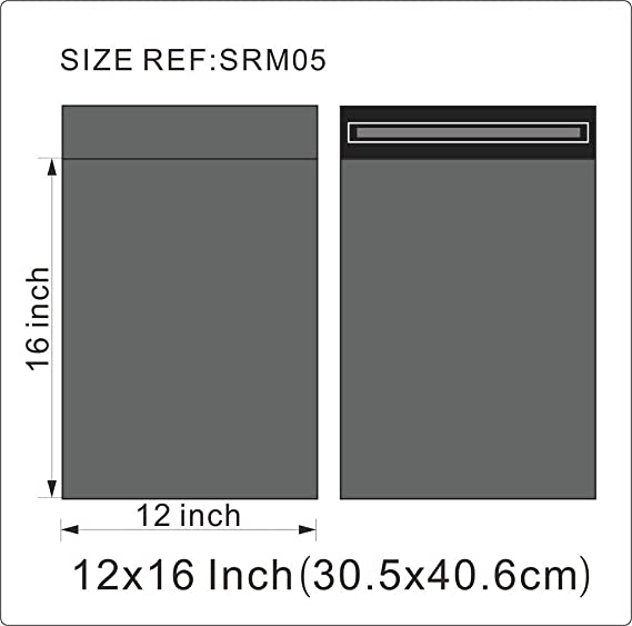 Amazon.com: 25 Bolsas para envíos (fuerte 12 x 16 (305 x 405 ...