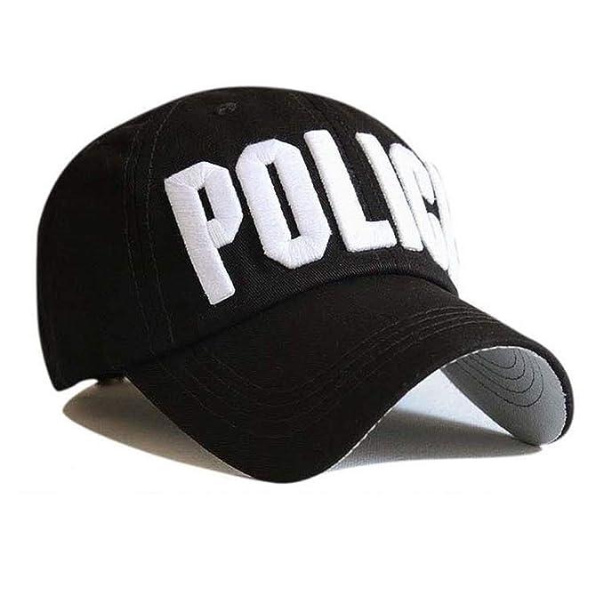 Amazon.com: Letter Baseball Caps Leisure Embroidery Baseball Cap Hats for Men Women Cap Snap Back Enfant Black: Clothing
