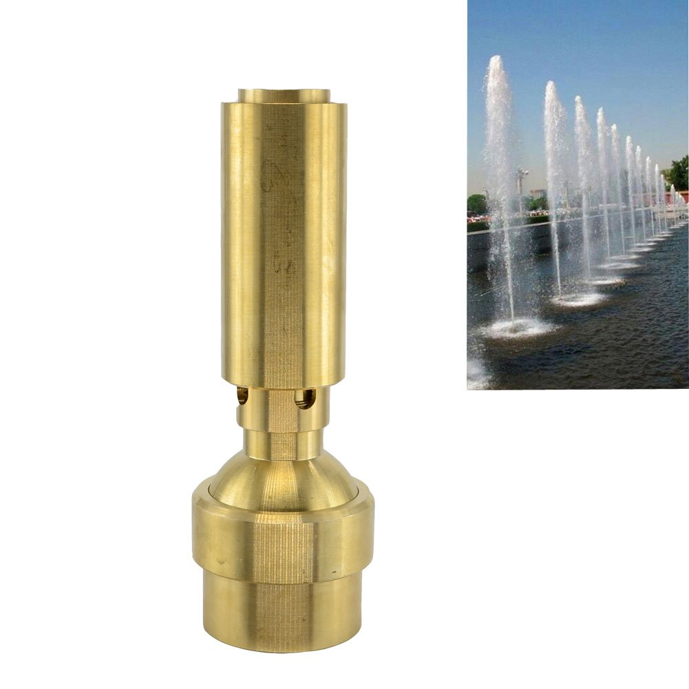 Thaoya Sprinkler Head for Garden Square Pool Fireworks Fountain Nozzles (G2)