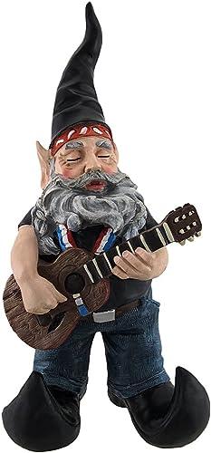Willie Elfson Country Music Singer Garden Gnome