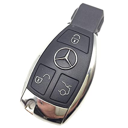 Amazon com: Key Cover Shell for Mercedes Benz 3 Buttons Smart Key