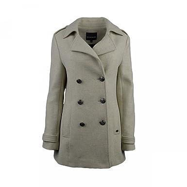 Mat De Misaine Damen Mantel Beige Beige 36 Amazonde Bekleidung