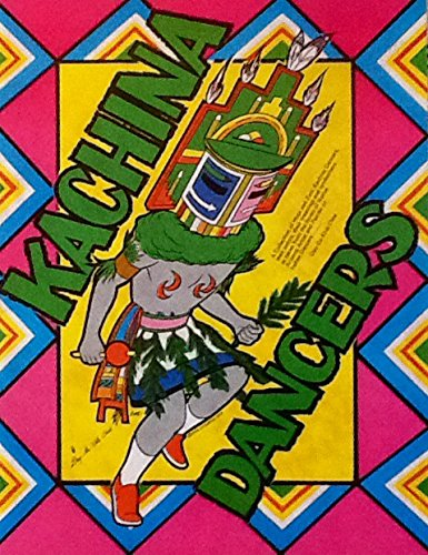 Kachina Dancers Coloring Book for sale  Delivered anywhere in USA