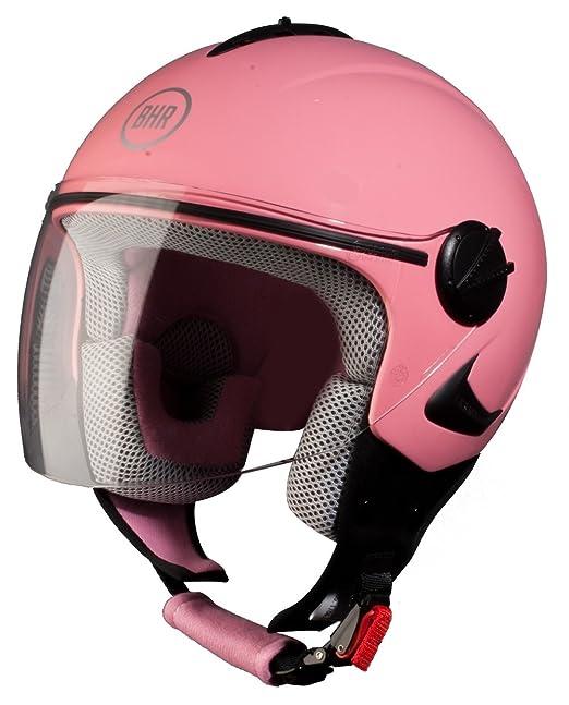 104 opinioni per BHR Casco Bimbo, Colore Rosa, 53-54 cm (YL )