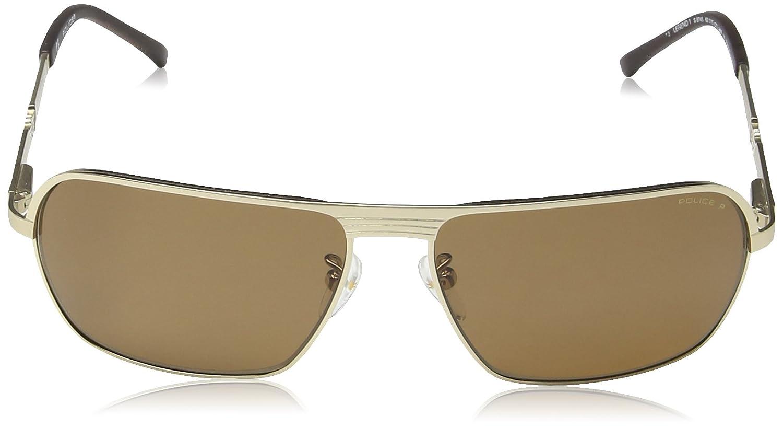 Police - Gafas de sol Rectangulares S8745 Legend 1: Amazon ...