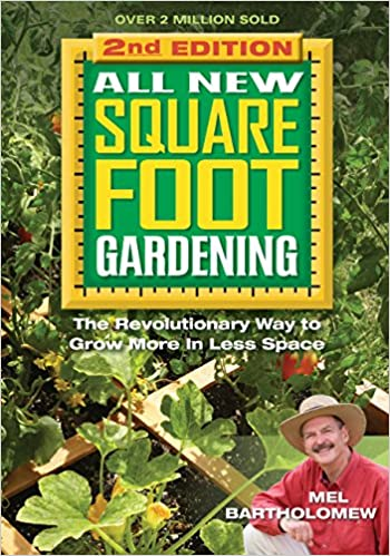 Square Foot Gardening by Mel Bartholomew is a great gift for a homesteader