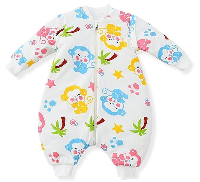 Fairy Baby - Saco de Dormir - Animal Print - Manga Larga - para bebé Mono: Amazon.es: Ropa y accesorios