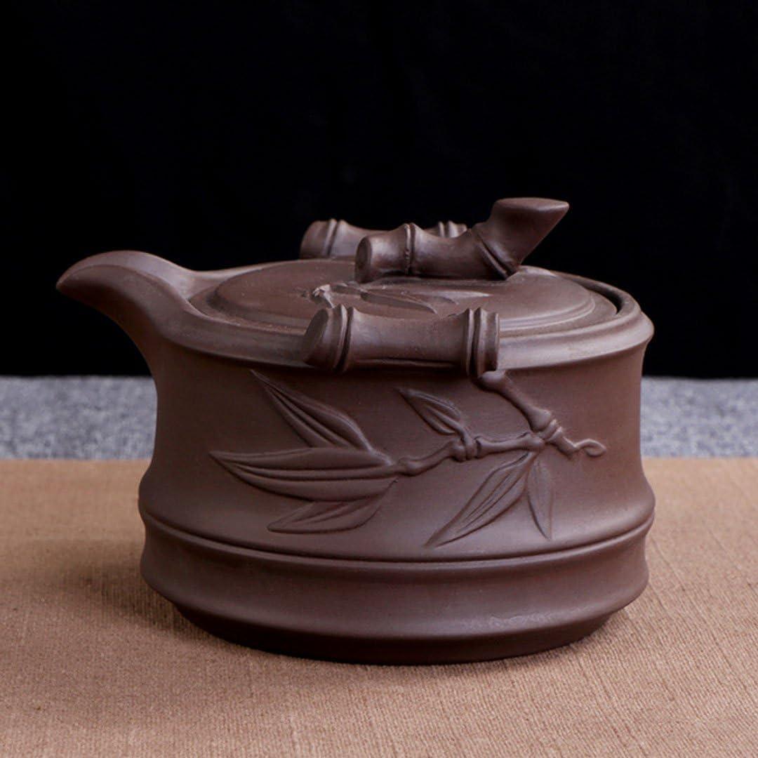 tazze da viaggio Kungfu teiera vassoio da t/è in bamb/ù Set da t/è in argilla cinese portatile con borsa da viaggio 10 Pcs Blue