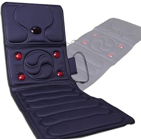 SHISHANG Multi-función de masaje colchón de calentamiento corporal descarga eléctrica masaje manta ancianos equipos de ...