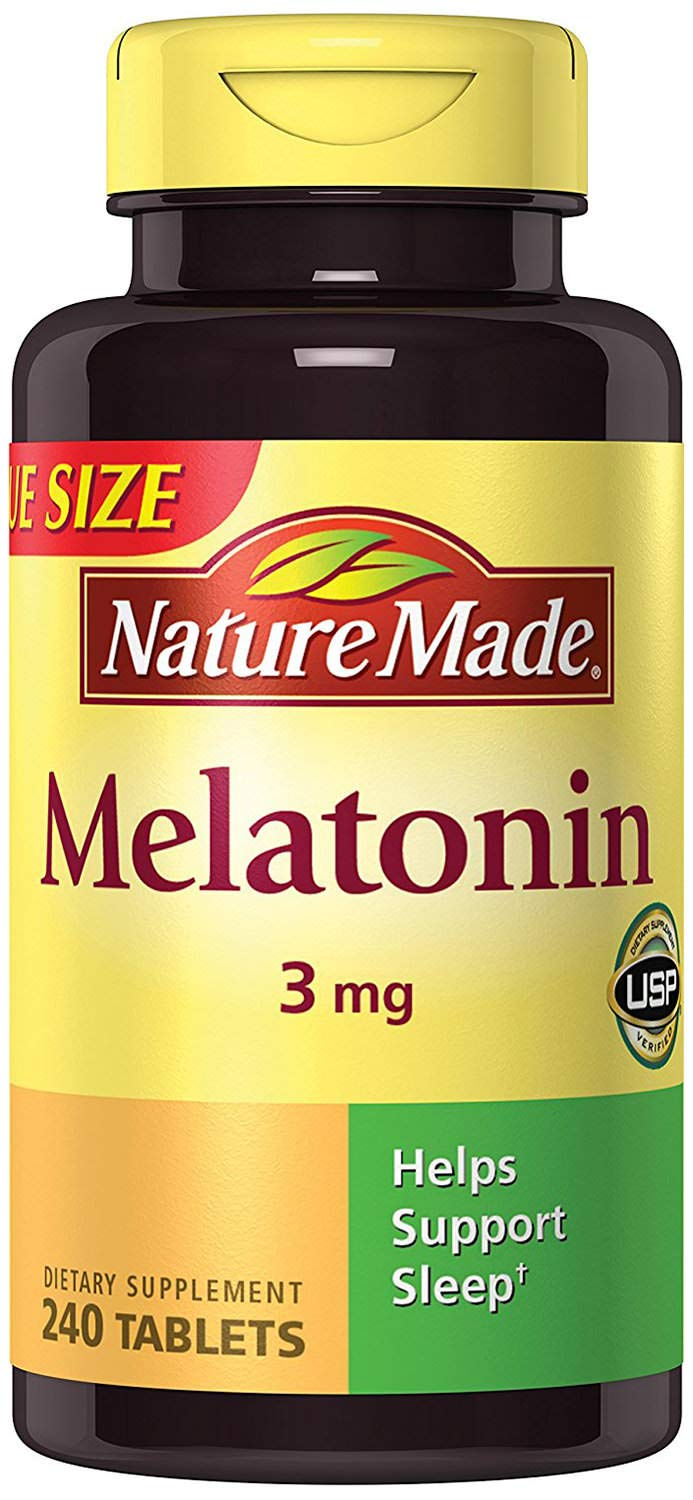 Amazon.com: NM Melatonin 3 mg, 240 Tablets (2 Bottles): Health & Personal Care