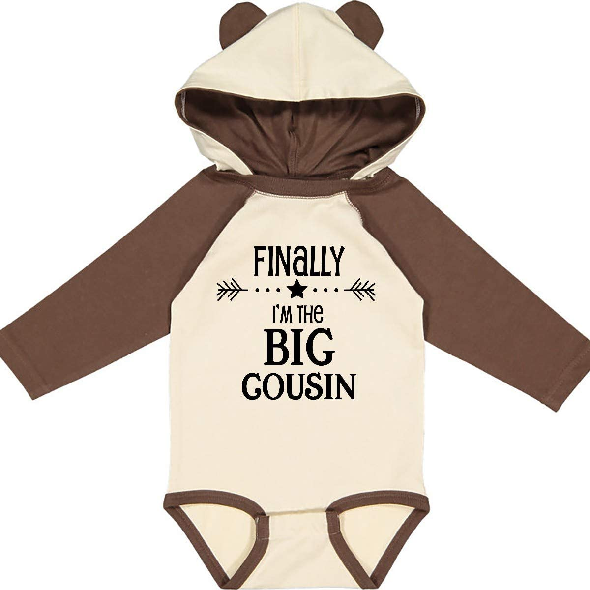 inktastic Gifts for Big Cousin Long Sleeve Creeper