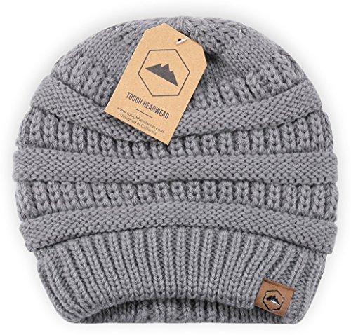 Knitting Items In Dubai : Tough headwear cable knit beanie thick soft warm