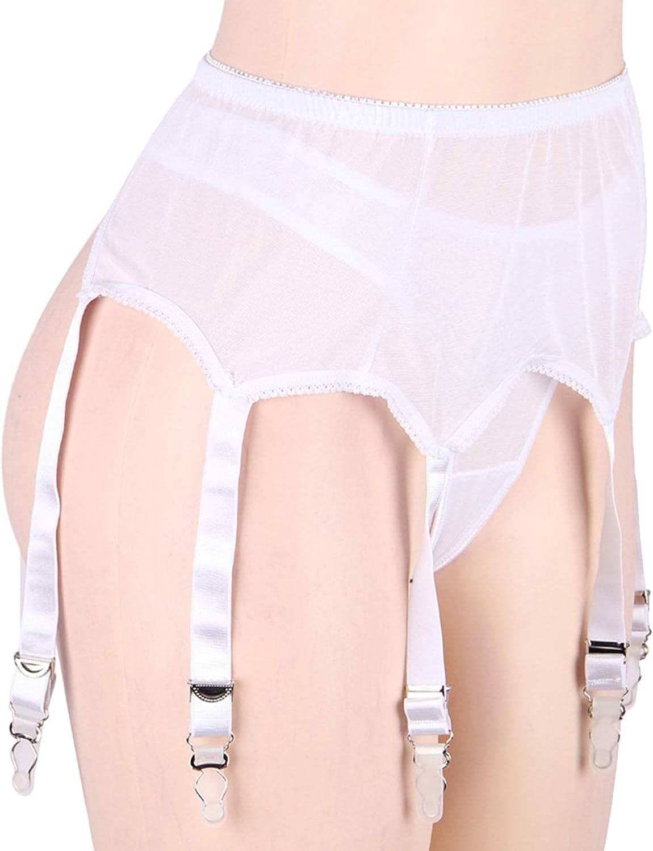 Scicent Mesh reggicalze reggicalze lingerie set regalo per le donne