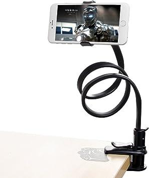 Marsboy - Soporte para Móvil Smartphone Universal Con soporte en forma de Clip Brazo Flexibles, Dispositivos GPS negro: Amazon.es: Electrónica