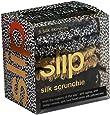 Slip Silk Skinnies Scrunchie Set - Gold, Black & Leopard - 100% Pure Mulberry Silk 22 Momme Scrunchies with Elastic Band from Slip Pure Silk Pillowcase (6 Scrunchies)