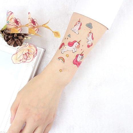 LLCUP Tatuaje Temporal,Cuerpo De Transferencia Pegatinas 8 Hojas ...