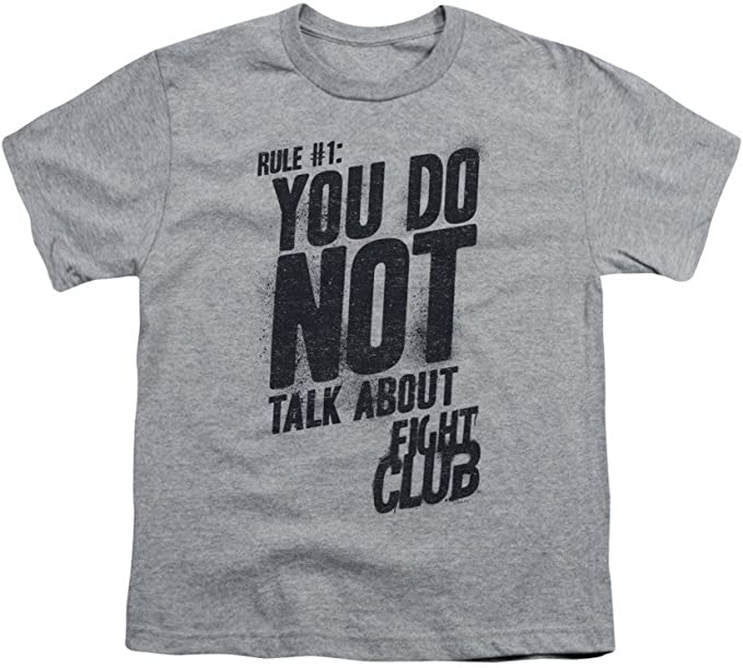 Fight Club Rule 1 Youth T-shirt