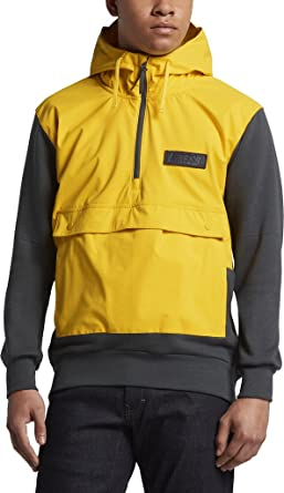 d6dcec6b75d0 Nike mens SB EVRT HOODIE REPEL 829387-719 L - TOUR YELLOW  ANTHRACITE ANTHRACITE