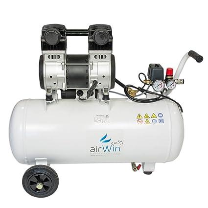 Airwin Silencioso unidad de aire comprimido Compresor sin aceite 1,5 kW/230 V