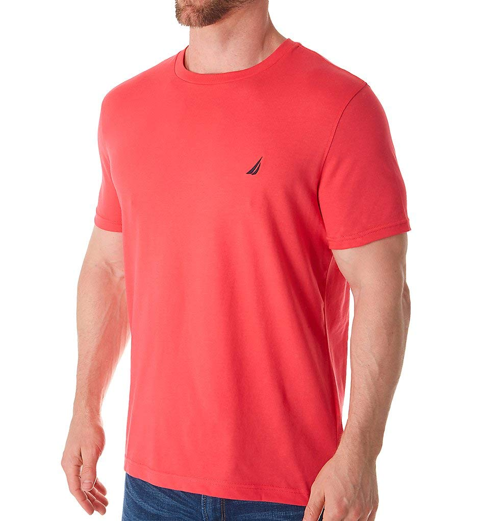 Nautica Men's Short Sleeve Solid Crew Neck T-Shirt