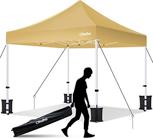 Ohuhu EZ Pop Up Canopy Tent
