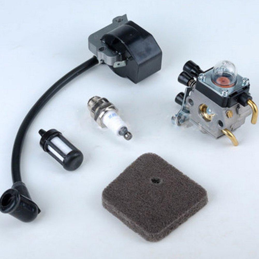 GEZICHTA Neuf Carburateur Carb Tondeuse pour Stihl FS38/FS45/FS46/Fs46/C Fs55r Km55r Fs45/C Fc55