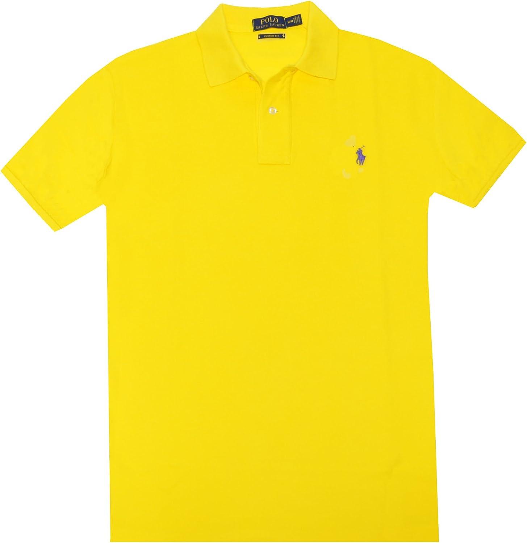 Polo Ralph Lauren – Hombre Custom Fit Pony Logo Polo Camiseta (XXL ...