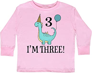inktastic 3rd Birthday Party Cute Girls Toddler T-Shirt