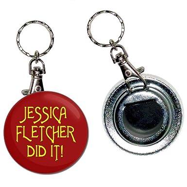 BadgeBeast.co.uk Jessica Fletcher Did It - Llavero con ...