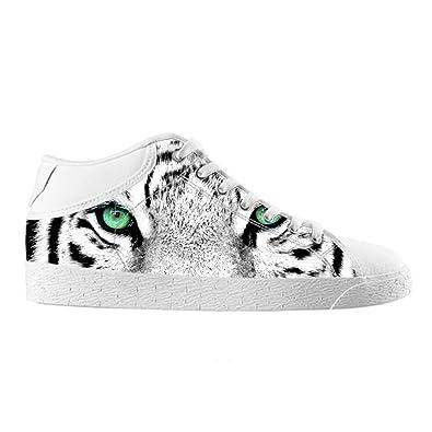 Cheese - Zapatillas modelo Tigre de excelente calidad - Zapatillas de tela personalizadas para Hombre - Talla EUR 44: Amazon.es: Zapatos y complementos
