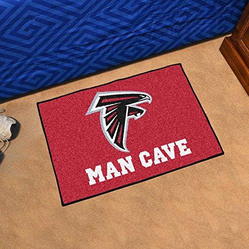Atlanta Falcons Starter Rug (Atlanta Falcons Man Cave Starter Rug 19