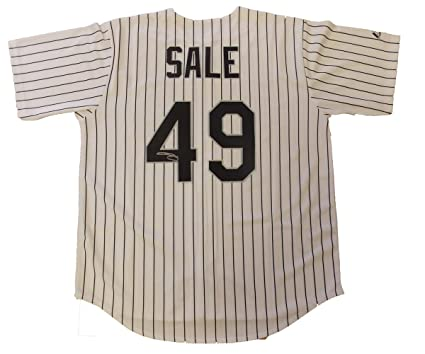 the latest 063dc 061e0 Chris Sale Autographed Chicago White Sox Jersey W/PROOF ...