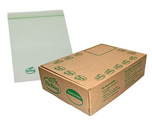 Amazon.com: BioBag Resealable Compostable Gallon Bags, 12 Boxes of 15 Bags, 180 Count: Health & Personal Care