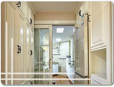 Espejo Rectangular sin Marco del Espejo del Cuarto de baño, Espejo de tocador del Cuarto de baño: Amazon.es: Hogar
