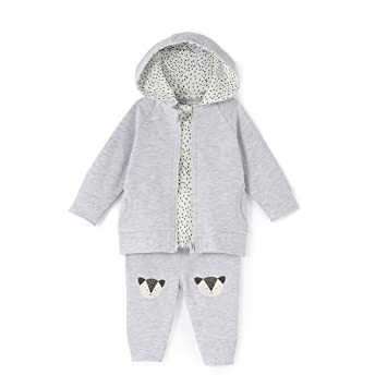 cc7fda4aaef06 Amazon.com: La Redoute Collections Three-Piece Outfit, Birth-3 Years ...
