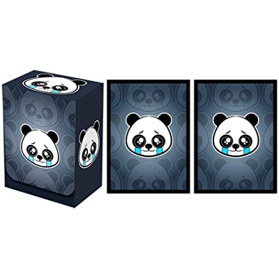 Legion Supplies Sad Panda Deck Box with 100 Sleeves: Toys & Games