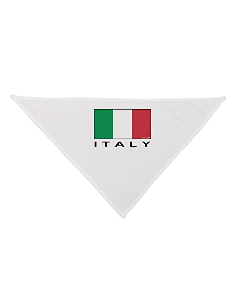 Amazon.com: tooloud Bandera Italiana – Italia texto perro ...