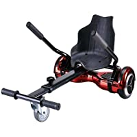 """Nero Sports Hoverkart Go Kart attachment for hover board electric scooter - Adjustable to fit 6.5"""" 8"""" and 10"""" scooters"""