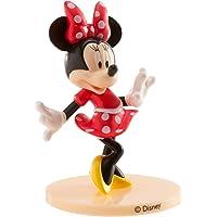 dekora 347174 Disney Minnie Mouse taartfiguur van PVC-9 cm, meerkleurig