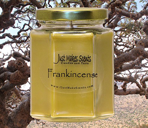 Frankincense Scented Blended Soy Candle by Just Makes Scents
