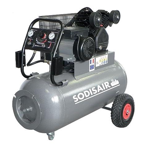 Compresor 100 litros V fundido a correa 400 V Tri