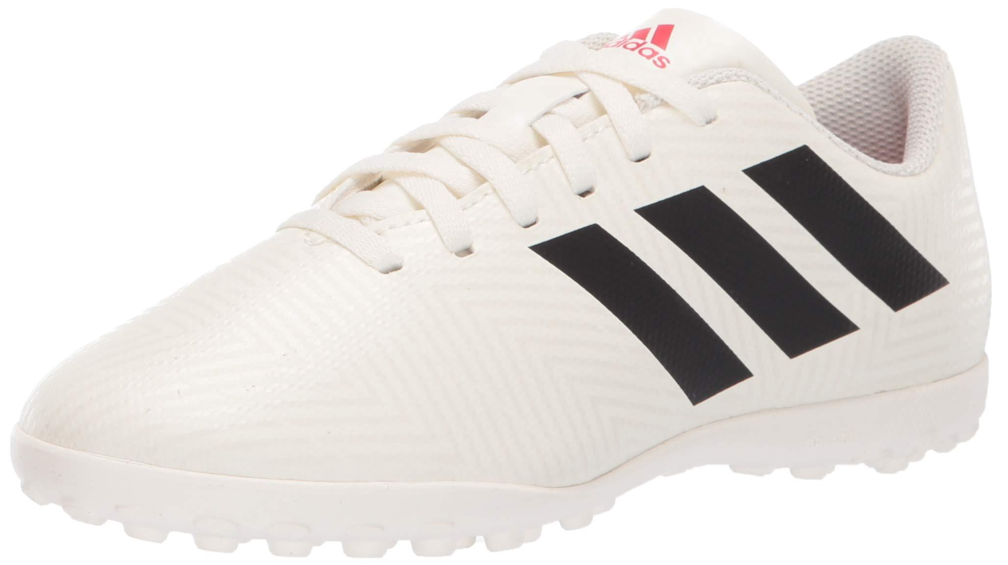 adidas Unisex Nemeziz 18.4 Turf, Off White/Black/Active red, 3.5 M US Big Kid