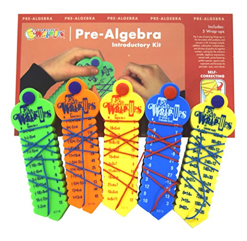 - Learning Wrap-ups Pre-Algebra Intro Kit Self Correcting Math Problems
