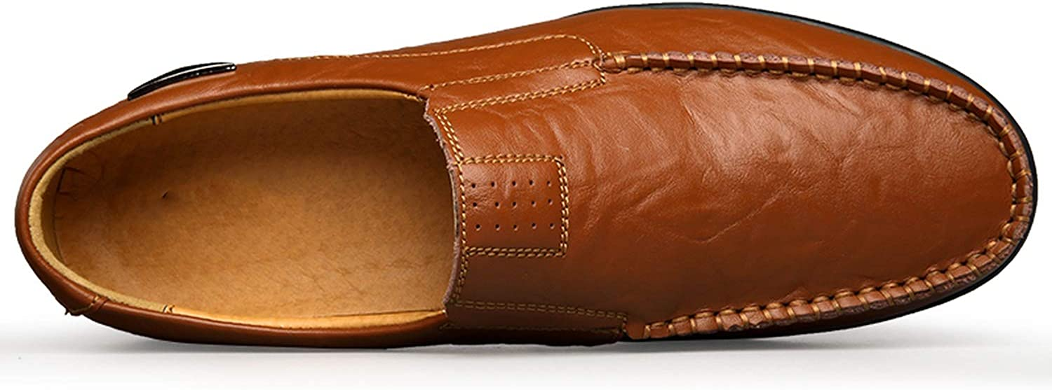 Men Shoes 2019 Mens Loafers Moccasins Breathable Slip on Shoes Plus Size