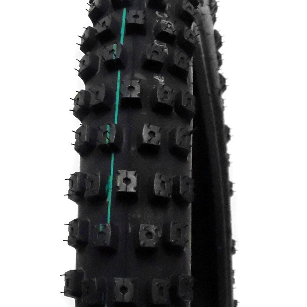 MMG Combo Dirt Bike Tire Size 70/100-19, Includes Inner Tube Size 70/100-19 TR4 Valve Stem