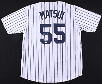 newest collection 5f146 502a1 HIDEKI MATSUI SIGNED N.Y. YANKEES JERSEY w/WITNESS ...