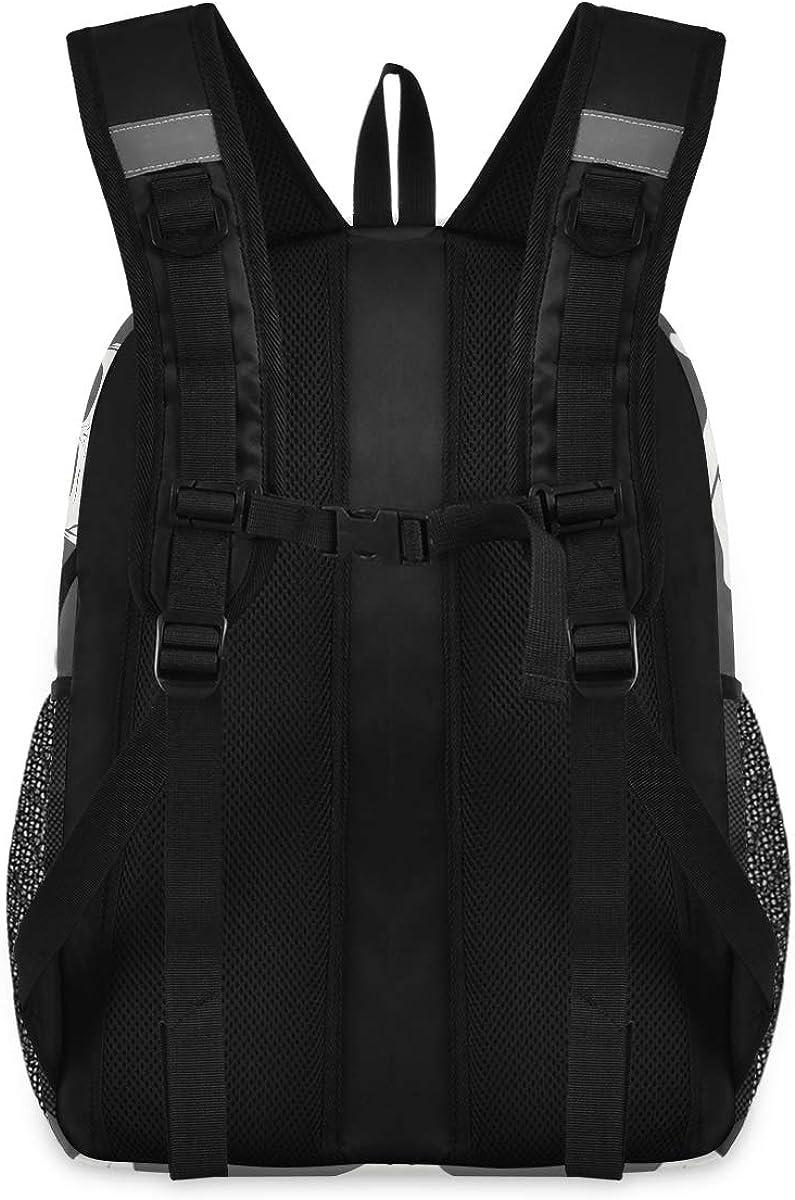 Dark Skull College School Computer Bag Gifts for Men /& Women Lightweight Anti Theft Durable Backpack Travel Laptop Backpack