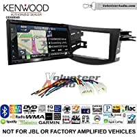 Volunteer Audio Kenwood Excelon DNX694S Double Din Radio Install Kit with GPS Navigation System Android Auto Apple CarPlay Fits 2006-2012 Non Amplified Toyota RAV4