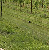 Fence: Black Vinyl Coated Galvanized Wire Animal Control - 2 ft x 150 ft
